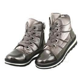 Hnědé sněhové boty, membrána Caprice 26212 hnědý 2