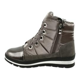 Hnědé sněhové boty, membrána Caprice 26212 hnědý 1