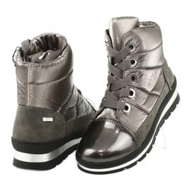 Hnědé sněhové boty, membrána Caprice 26212 hnědý 3
