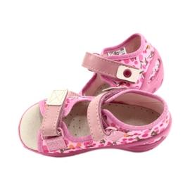 Befado dětské boty pu 065P143 růžový 5