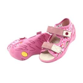 Befado dětské boty pu 065P143 růžový 4