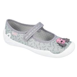 Dětská obuv Befado 114Y411 šedá 1