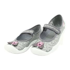 Dětská obuv Befado 114Y411 šedá 3