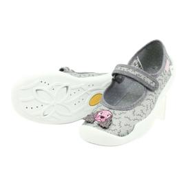Dětská obuv Befado 114Y411 šedá 4