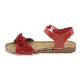 Dámské boty Comfort Inblu 158D117 červená 2
