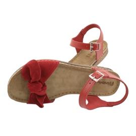 Dámské boty Comfort Inblu 158D117 červená 5