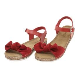 Dámské boty Comfort Inblu 158D117 červená 3