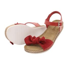 Dámské boty Comfort Inblu 158D117 červená 4