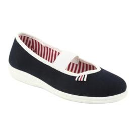 Dětská obuv Befado 274Y014 válečné loďstvo 2