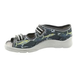 Dětská obuv Befado 969Y158 šedá 2