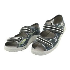Dětská obuv Befado 969Y158 šedá 3