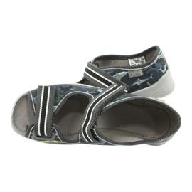 Dětská obuv Befado 969Y158 šedá 5