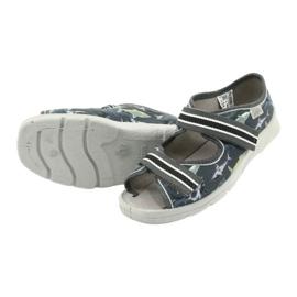 Dětská obuv Befado 969Y158 šedá 4