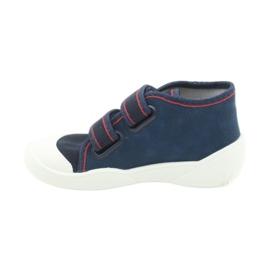 Befado oranžové dětské boty 212P061 1