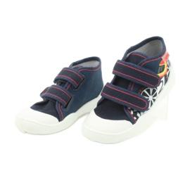 Befado oranžové dětské boty 212P061 2