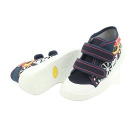 Befado oranžové dětské boty 212P061 3