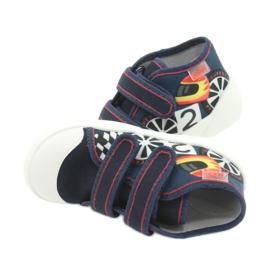 Befado oranžové dětské boty 212P061 4