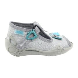 Dětská obuv Befado 213P121 šedá 1