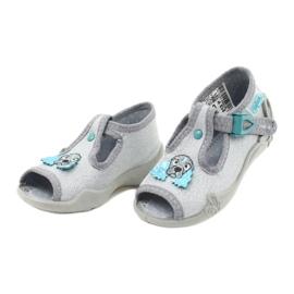 Dětská obuv Befado 213P121 šedá 3