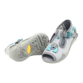 Dětská obuv Befado 213P121 šedá 4