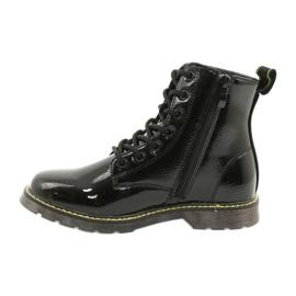 Černé lakované boty Evento 20DZ23-3216 Marita černá 3