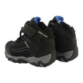 Softshellové boty s membránou American Club černá modrý 4