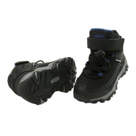 Softshellové boty s membránou American Club černá modrý 3