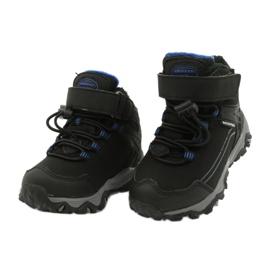 Softshellové boty s membránou American Club černá modrý 2