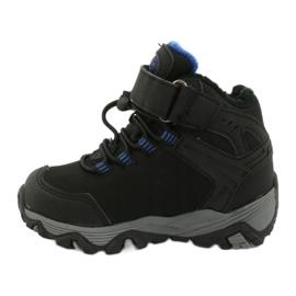 Softshellové boty s membránou American Club černá modrý 1