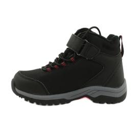Měkké sportovní boty s membránou American Club HL38 / 20 černá červená 1