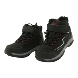 Měkké sportovní boty s membránou American Club HL38 / 20 černá červená 2