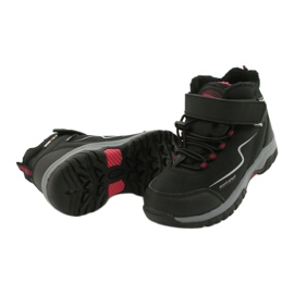 Měkké sportovní boty s membránou American Club HL38 / 20 černá červená 3
