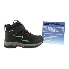 Měkké sportovní boty s membránou American Club HL38 / 20 černá červená 5