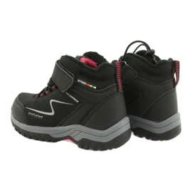 Měkké sportovní boty s membránou American Club HL38 / 20 černá červená 4