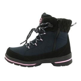 American Club Soft-boty s membránou SN03 / 20 černá válečné loďstvo růžový 1