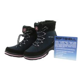 American Club Soft-boty s membránou SN03 / 20 černá válečné loďstvo růžový 4