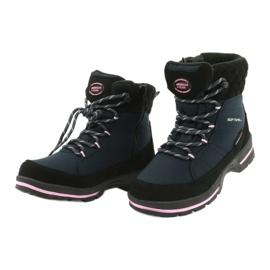 American Club Soft-boty s membránou SN03 / 20 černá válečné loďstvo růžový 2