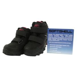 American Club Softshellové boty s membránou černá červená 4