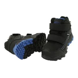 American Club Softshellové boty s membránou černá modrý 3