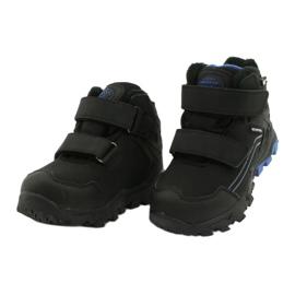 American Club Softshellové boty s membránou černá modrý 2