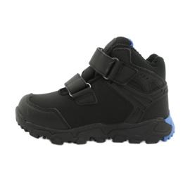 American Club Softshellové boty s membránou černá modrý 1