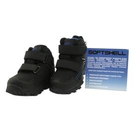 American Club Softshellové boty s membránou černá modrý 4