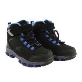 American Club Americké softshellové boty nepromokavé boty s membránou černá modrý 4