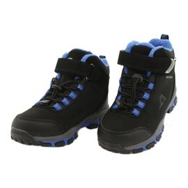 American Club Americké softshellové boty nepromokavé boty s membránou černá modrý 2