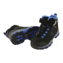 American Club Americké softshellové boty nepromokavé boty s membránou černá modrý 3
