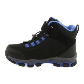 American Club Americké softshellové boty nepromokavé boty s membránou černá modrý 1