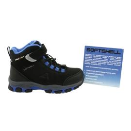 American Club Americké softshellové boty nepromokavé boty s membránou černá modrý 5