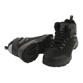 American Club Americké trekové softshellové boty s membránou černá 3
