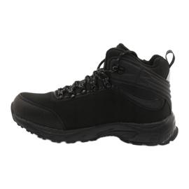 American Club Americké trekové softshellové boty s membránou černá 1