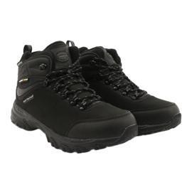 American Club Americké trekové softshellové boty s membránou černá 4